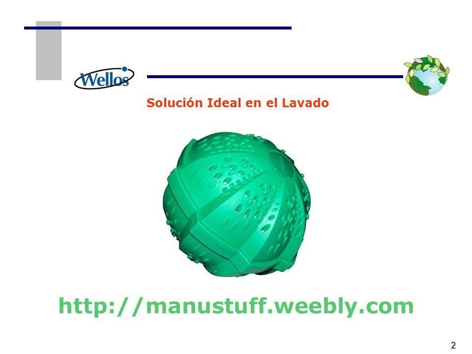 1 2 Características 2 1.Las Bolas de Lavado Wellos han sido científicamente diseñadas con 4 tipos de cerámica natural y magnetos con potencia de 3,000 Gauss los cuales permiten lavar sin necesidad de detergentes.