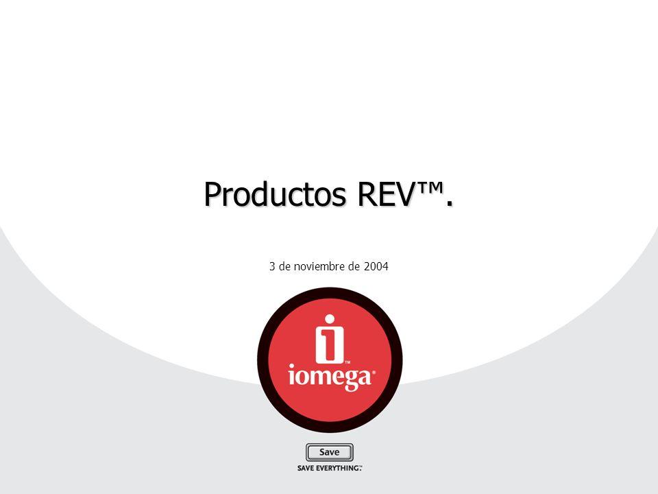 3 de noviembre de 2004 Productos REV.