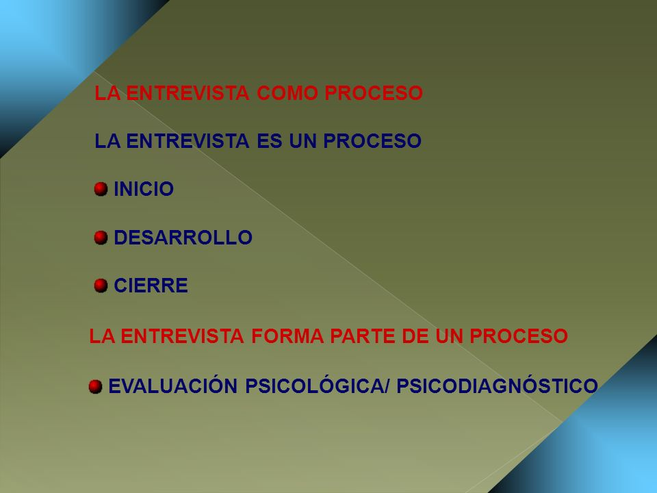 ASPECTOS INTERACCIONALES ESTABLECIMIENTO DEL RAPPORT: INTERACCIÓN POSITIVA ENTREVISTADOR – ENTREVISTADO ALENTAR LA COMUNICACIÓN Y LA FLUIDEZ VERBAL DEL ENTREVISTADO SABER ESCUCHAR: PROCESO MENTAL Y EMOCIONAL CAPACIDAD EMPÁTICA MANEJAR EL SILENCIO CONTROL DEL LENGUAJE CORPORAL: CONTACTO OCULAR, ASENTIR...
