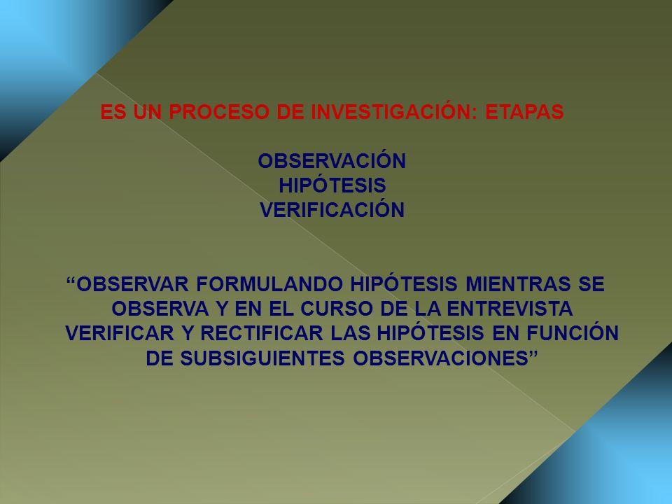 LA ENTREVISTA ES UN CAMPO DE RELACIÓN INTERPERSONAL QUE DEBE CONFIGURARSE EN GRAN MEDIDA CON LAS VARIABLES DEL ENTREVISTADO, PERO INCLUYE AL ENTREVISTADOR CUYO COMPORTAMIENTO FORMA PARTE DE LA TOTALIDAD DEL CAMPO ENTREVISTADOR Y ENTREVISTADO SE INTERINFLUENCIAN MUTUAMENTE EL ENTREVISTADOR FORMA PARTE DEL CAMPO Y CONDICIONA EL FENÓMENO QUE VA A OBSERVAR POR ELLO ÉL MISMO SERÁ UNA VARIABLE OBJETO DE ANÁLISIS