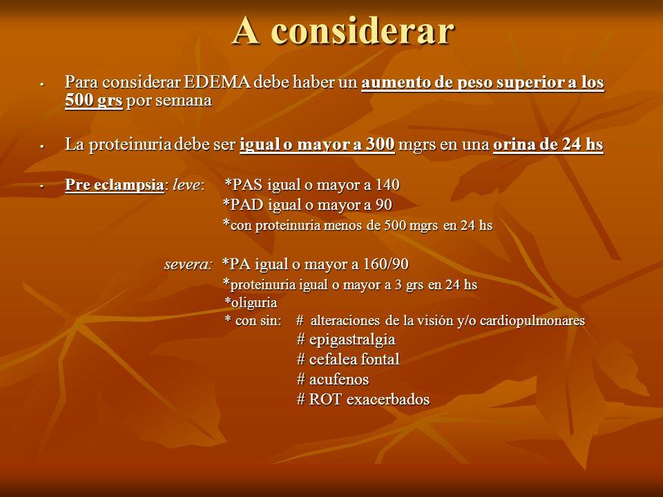 INDICACIONES AL INGRESO: 26/5/12 1- N.V.O 2- HP c/ Ringer Lactato, goteo a 42 x´ 3- Goteo de Labetalol: 160 cc de SSF 0.9% + 10 amp de labetalol, goteo a 30 x´ 4- Sulfato de Mg: Dosis de ataque y Mantenimiento: c/ 4 hs, previa evaluación medica 5- Alfametildopa 500 mgrs 1 comprimido c/ 6 hs