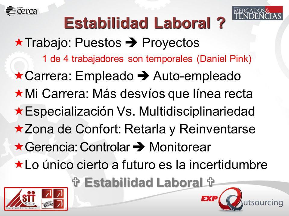 Estabilidad Laboral .