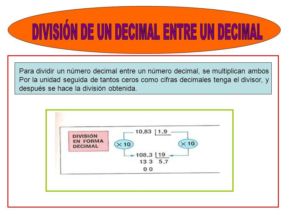 Division De Numeros Decimales Con Ceros En El Divisor Lessons Blendspace