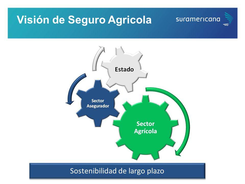 Visión de Seguro Agricola Sostenibilidad de largo plazo