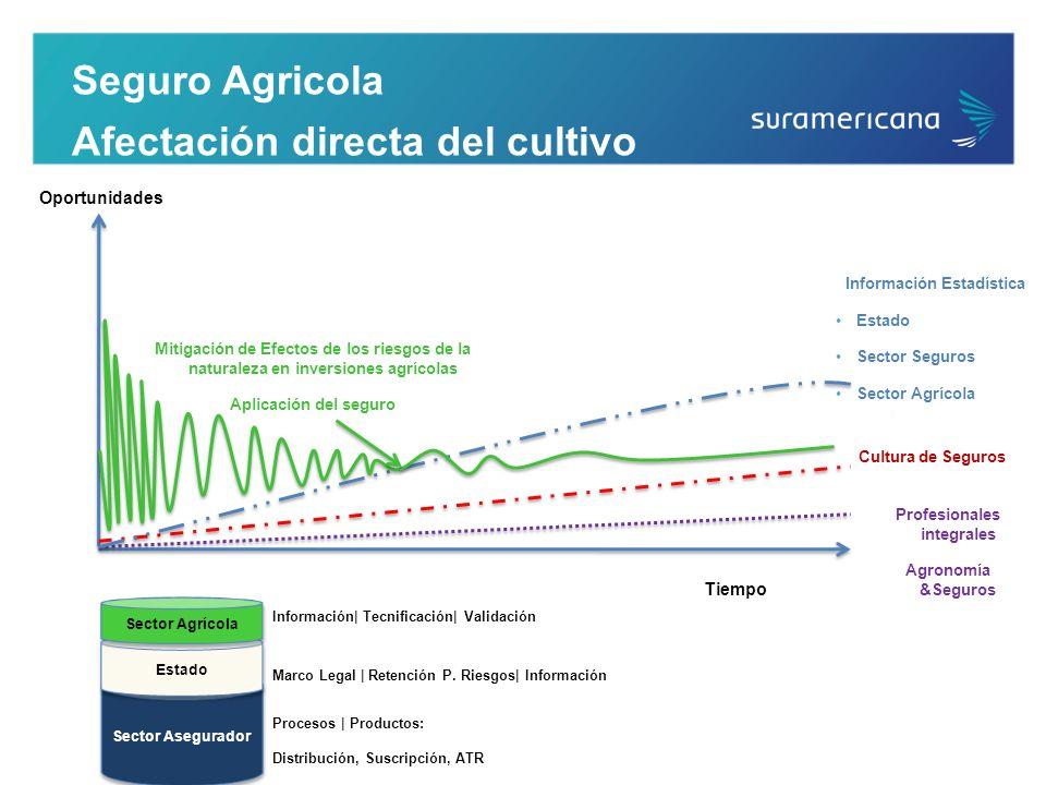Seguro Agricola Afectación directa del cultivo Mitigación de Efectos de los riesgos de la naturaleza en inversiones agrícolas Aplicación del seguro In