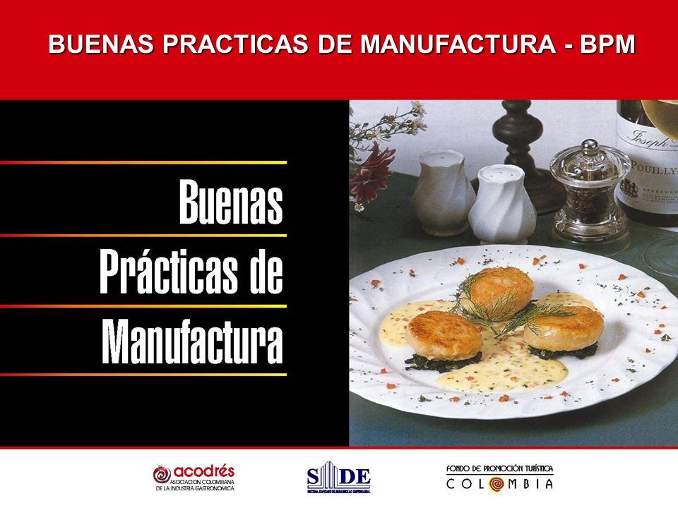 BUENAS PRACTICAS DE MANUFACTURA - BPM