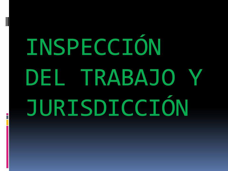 LA INSPECCIÓN DEL TRABAJO. ESTRUCTURA ORGÁNICA Y FUNCIONES: Raquel Pilas Hernández