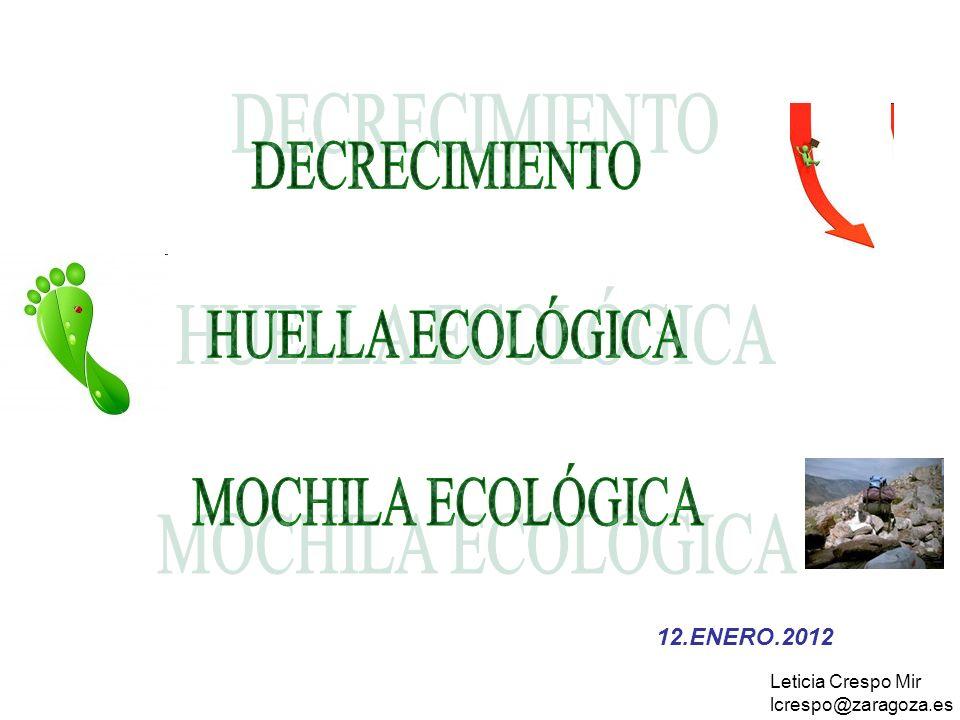 12.ENERO.2012 Leticia Crespo Mir lcrespo@zaragoza.es