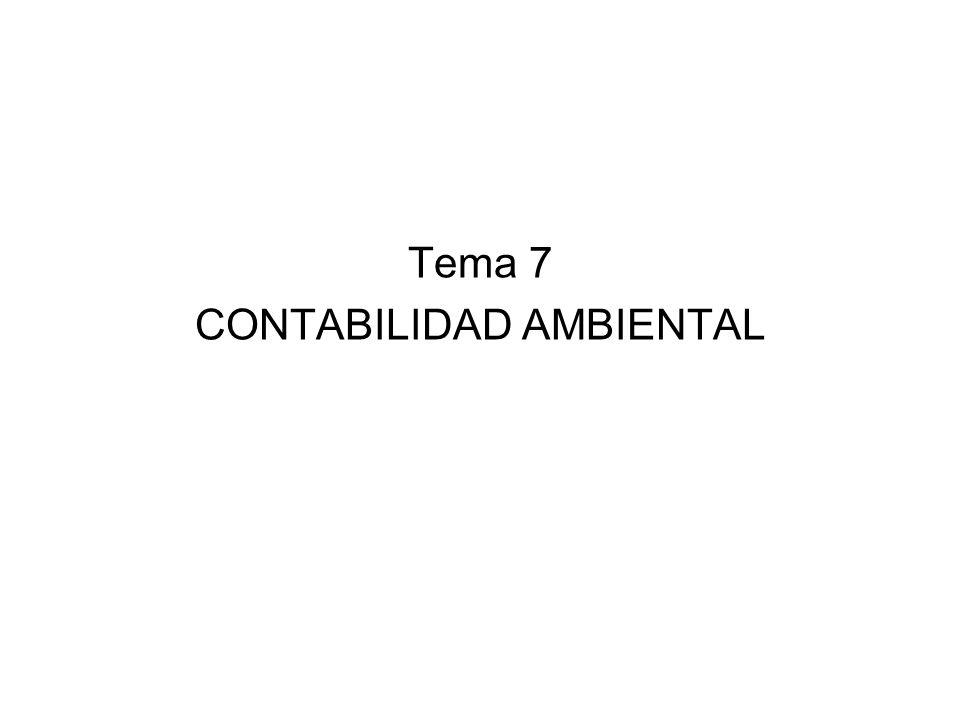 Tema 7 CONTABILIDAD AMBIENTAL