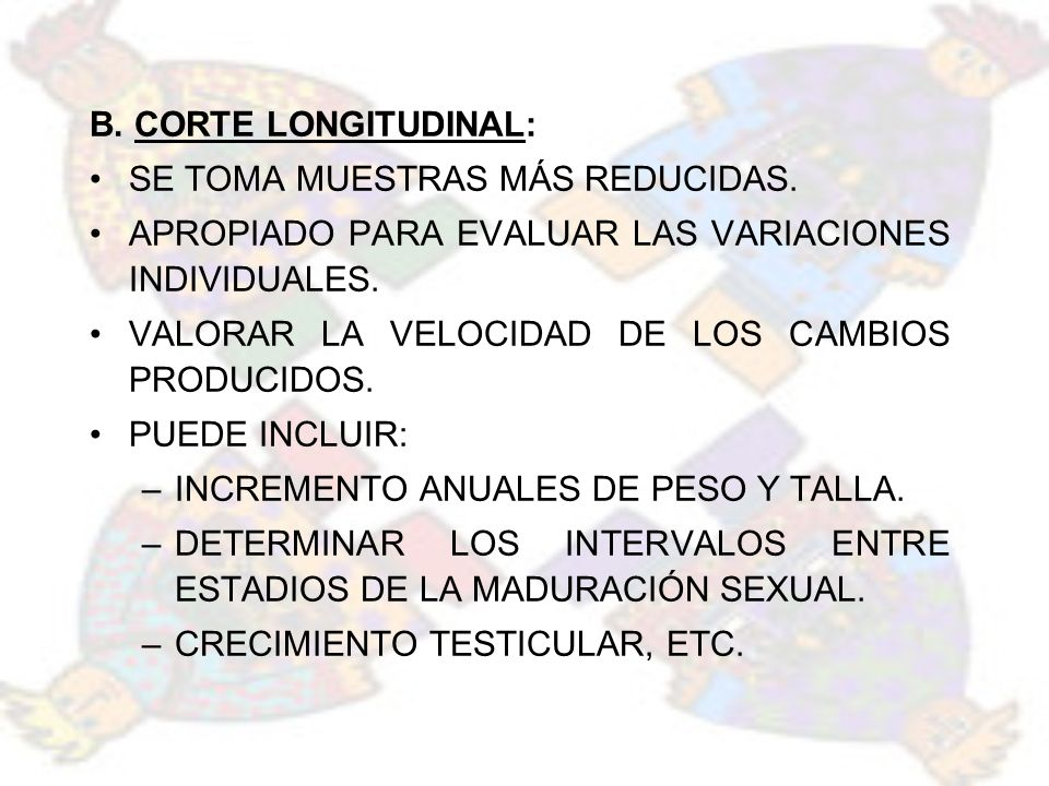 EN LA MAYORIA DE LOS JÓVENES EL DESARROLLO GENITAL SE COMPLETA (G5) A LOS 17.6 AÑOS.