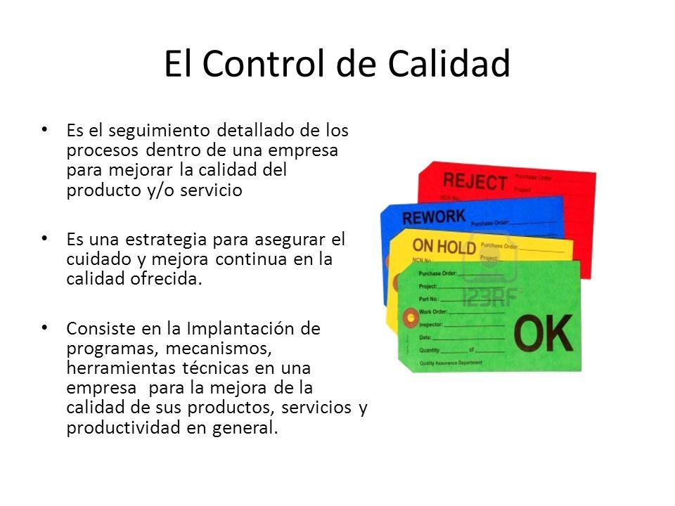 EL CONTROL DE CALIDAD EN LA GESTION LOGISTICA Conferencia en la Universidad Centroamericana José Simeón Cañas, San Salvador, Mayo 2011 ING. JORGE VALE