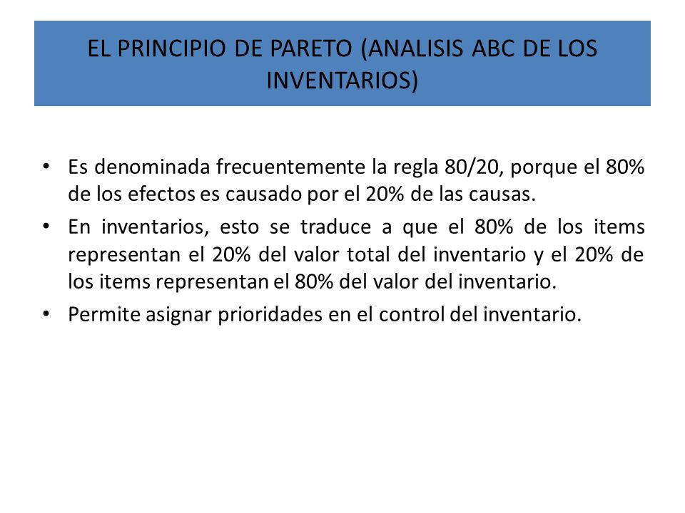 Caso 3: Análisis ABC del inventario