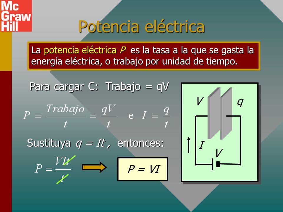 Ejemplo 4. La resistencia de un alambre de cobre es 4.00 m a 20 0 C. ¿Cuál será su resistencia si se calienta a 80 0 C? Suponga que = 0.004 /C o. R o