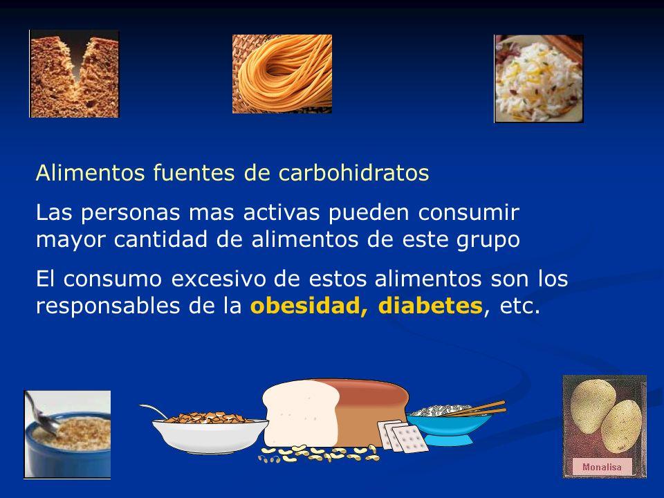 ALIMENTOS ENERGETICOS Alimentos energéticos, tienen como función principal, proporcionar energía, en este grupo se encuentran los alimentos fuentes de
