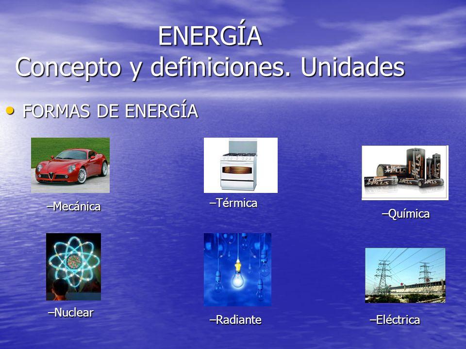 ENERGÍA Y SU TRANSFORMACIÓN Desarrollo del tema 5 3º ESO