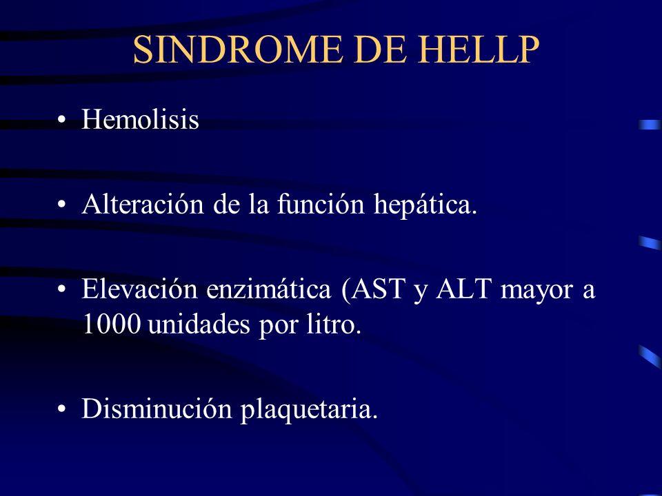 Cefaleas, alteraciones visuales, y otras alteraciones de SNC. Descompensación cardiaca (EAP). Normalmente asociada con cardiopatía o Hipertensión arte