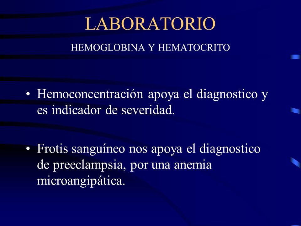 SINDROME DE HELLP Se tienen datos que presumen una CID ya que el hemograma nos revela anemia hemolítica microangiopática, con cifras bajas de TTP, pro