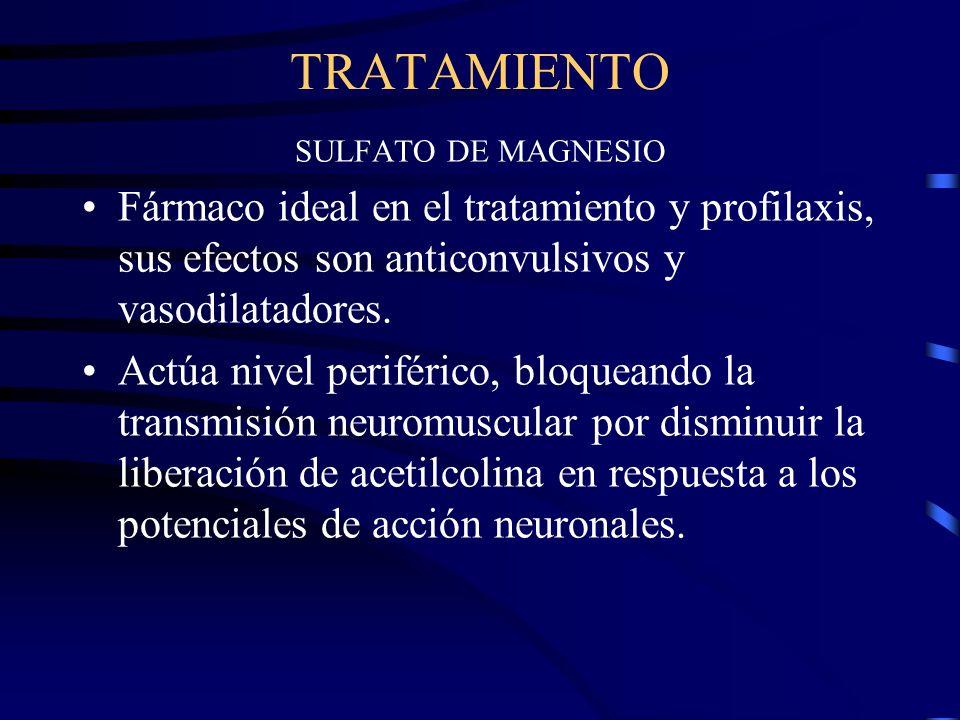 TRATAMIENTO Reposición de la volemia. Tratamiento del metabolismo acido-basico, y alteraciones electrolíticas. Corregir alteraciones de la coagulación