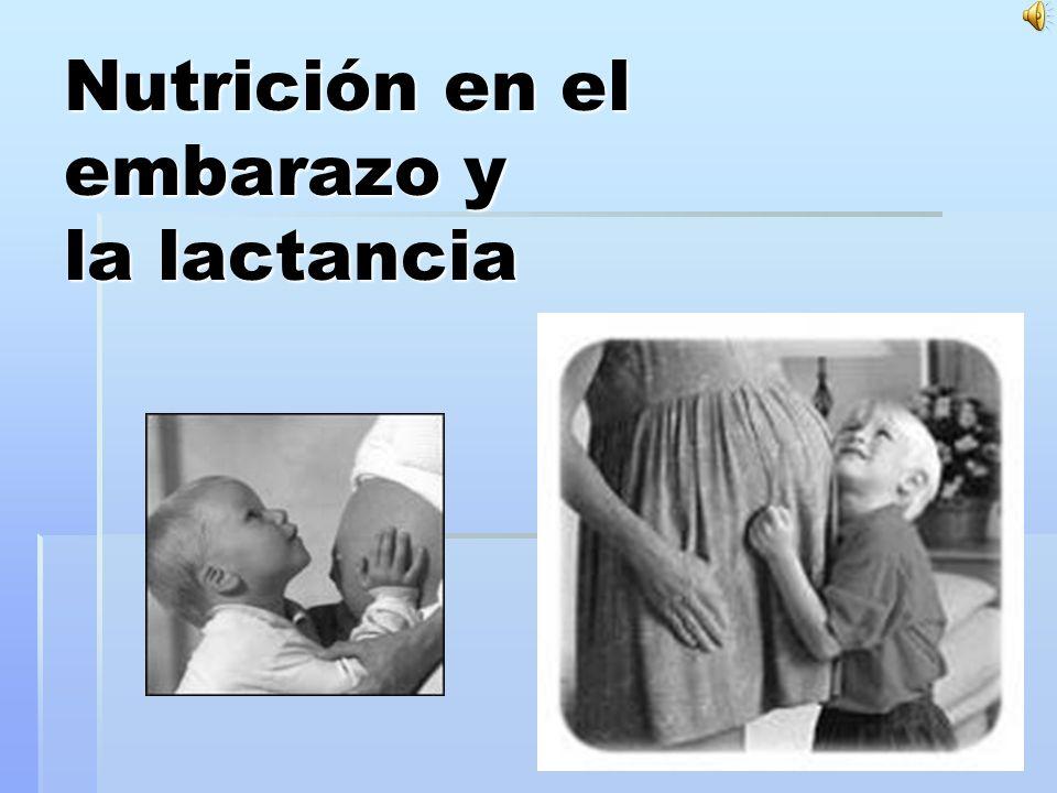 Dieta de la madre lactante Dieta sana y equilibradaDieta sana y equilibrada Proteínas: orígen naturalProteínas: orígen natural Hidratos de carbono: cereales, patatas,legumbresHidratos de carbono: cereales, patatas,legumbres No variar el aporte de grasasNo variar el aporte de grasas Vitaminas A,D,E,C,B,B2 y ácido fólicoVitaminas A,D,E,C,B,B2 y ácido fólico Lácteos: leche desnatadaLácteos: leche desnatada Líquidos: zumos, infusiones y aguaLíquidos: zumos, infusiones y agua No tomar: coliflor, repollo, cochinillo, chocolatesNo tomar: coliflor, repollo, cochinillo, chocolates
