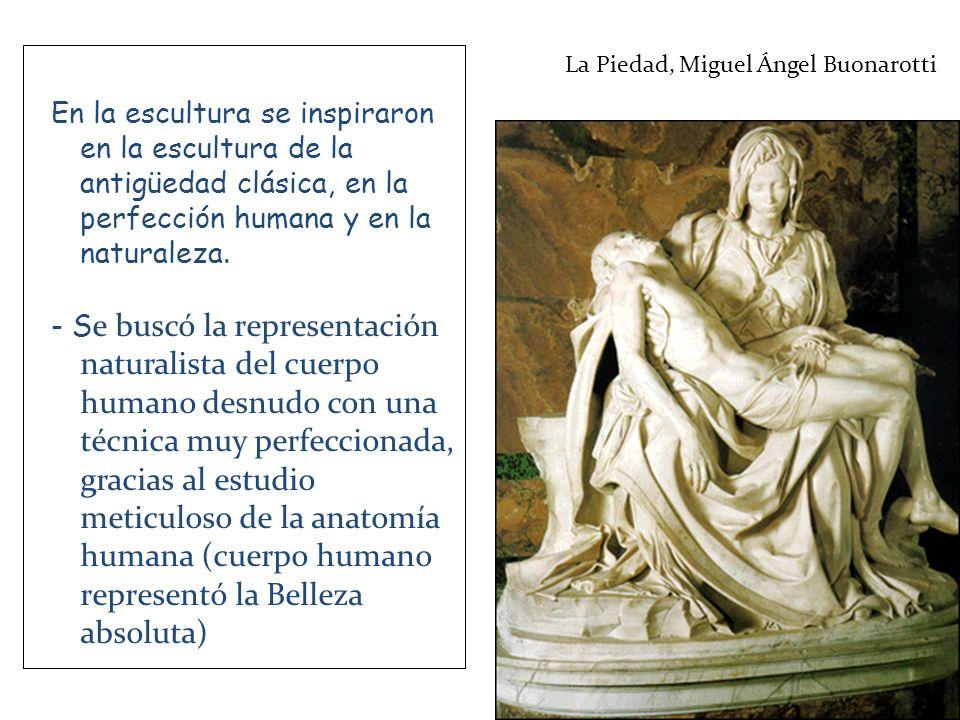 Leonardo de Vinci El hombre de Vitrubio La perfección del cuerpo humano mediante el entrenamiento físico fue objeto de la educación renacentista