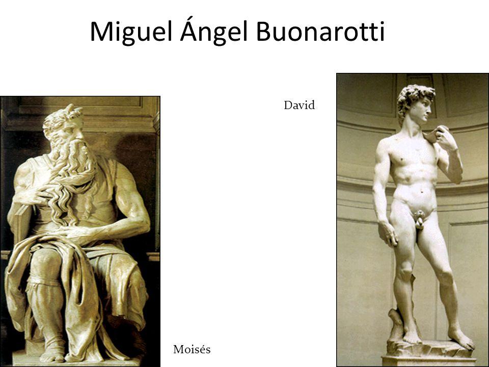 En la escultura se inspiraron en la escultura de la antigüedad clásica, en la perfección humana y en la naturaleza. - S e buscó la representación natu
