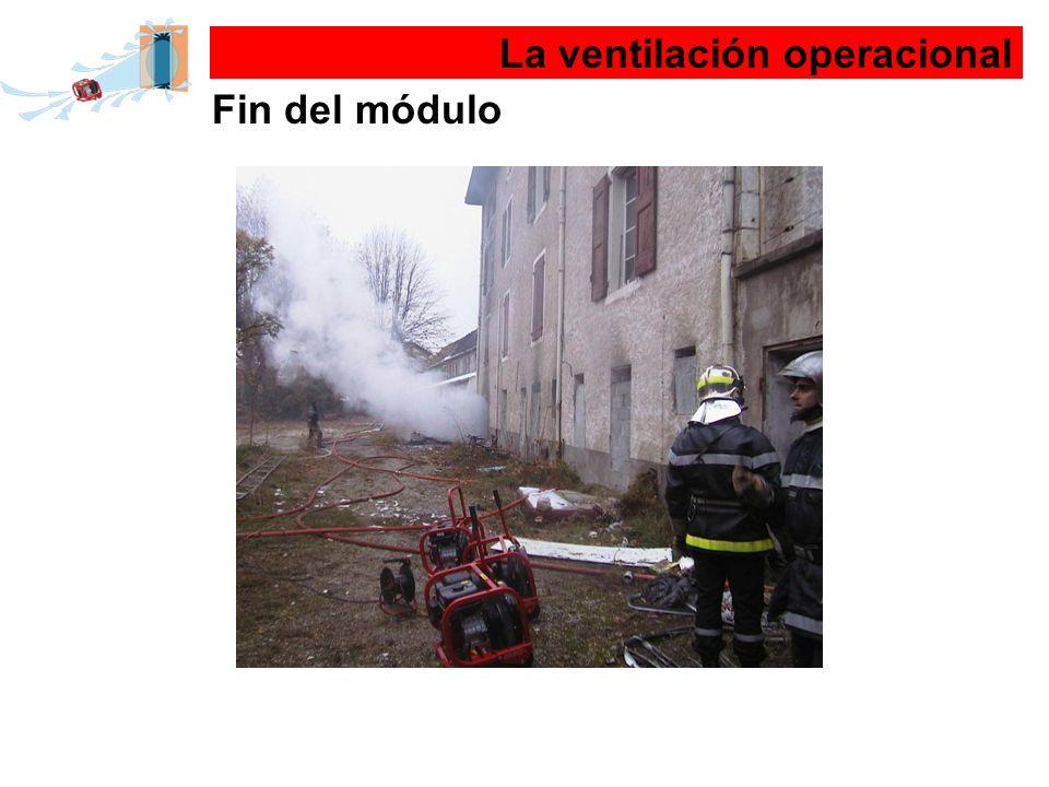 La ventilación operacional Fin del módulo