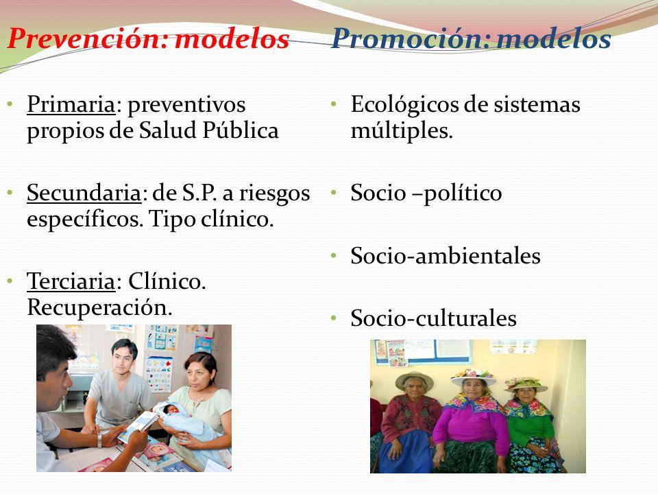 Prevención: a quién? Primaria: individuos y Grupos de riesgo Secundaria: individuos y grupos posiblemente enfermos (tamizaje) Terciaria: enfermos en r