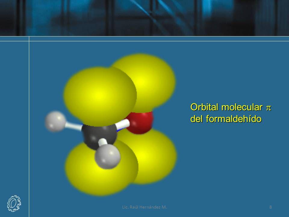 8 Orbital molecular del formaldehído