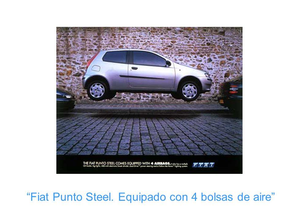 Fiat Punto Steel. Equipado con 4 bolsas de aire