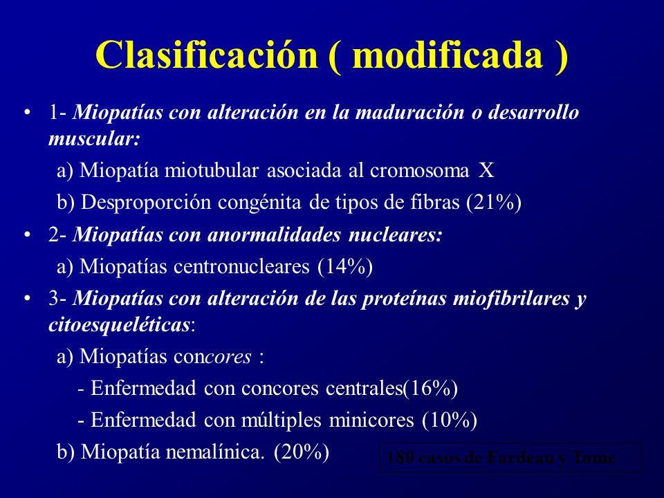 Características clínicas Comparten muchas características clínicas y patológicas, con severidad variable.