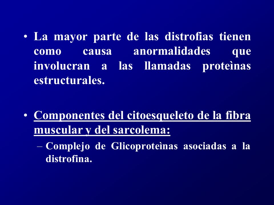 DISTROFIAS MUSCULARES PROGRESIVAS TypeOnset Age (years)Clinical FeaturesOther organ systems involved DuchenneBefore 51.Progressive weakness of girdle muscles.