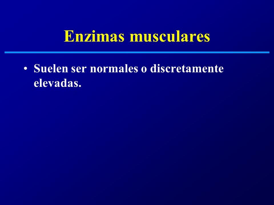Biopsia muscular La fibras rojo rasgadas son caracteristicas (tincion de tricromico Gomori) y expresan un cambio morfologico secundario a una fosforilacion oxidativa defectuosa.