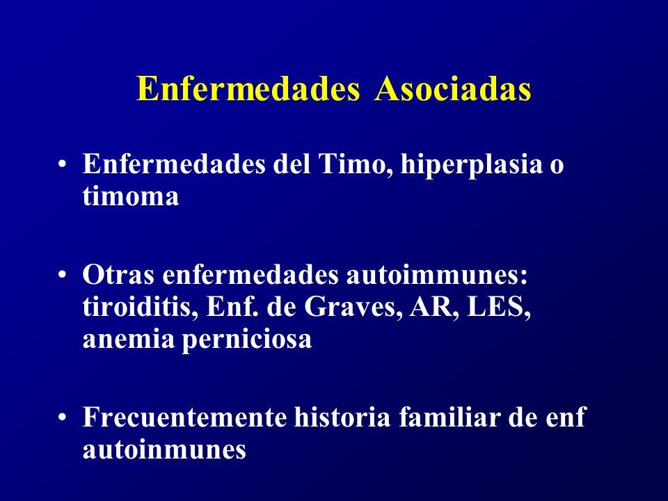 Timo y MG La principal anomalía en la MG parece ser el fracaso de la tolerancia inmunológica hacia los propios antígenos.