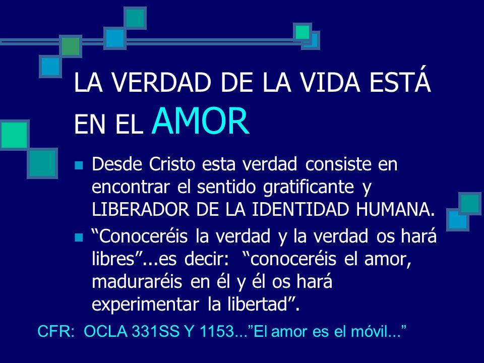 El P.Luis como hombre de fe sitúa: El quicio del crecimiento en el amor en el ENCUENTRO CON DIOS.nos hiciste Señor....