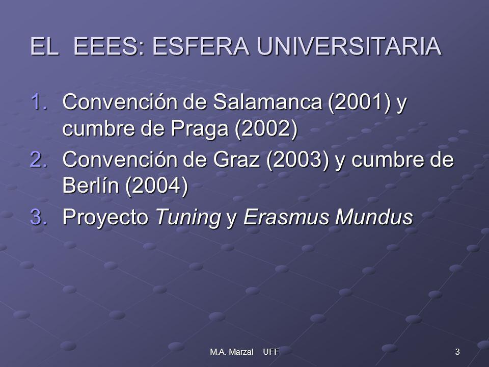 24M.A.Marzal UFF INNOVACIÓN DOCENTE: AULA GLOBAL VISIÓN DEL PROFESOR 3.