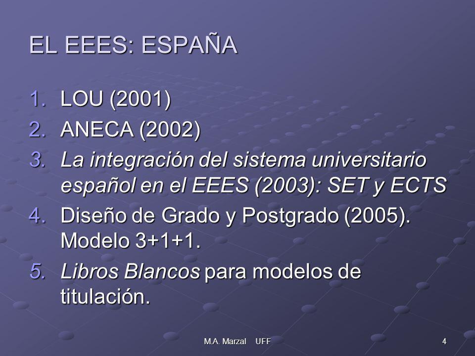 5M.A.Marzal UFF PROYECTO DE DISEÑO DE PLAN DE ESTUDIOS Y TÍTULO EN INFORMACIÓN Y DOCUMENTACIÓN.