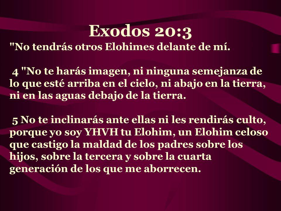 Exodos 20:3