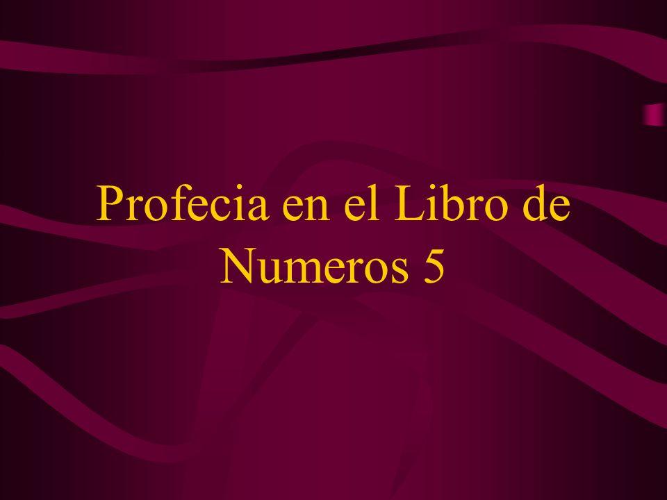 Profecia en el Libro de Numeros 5