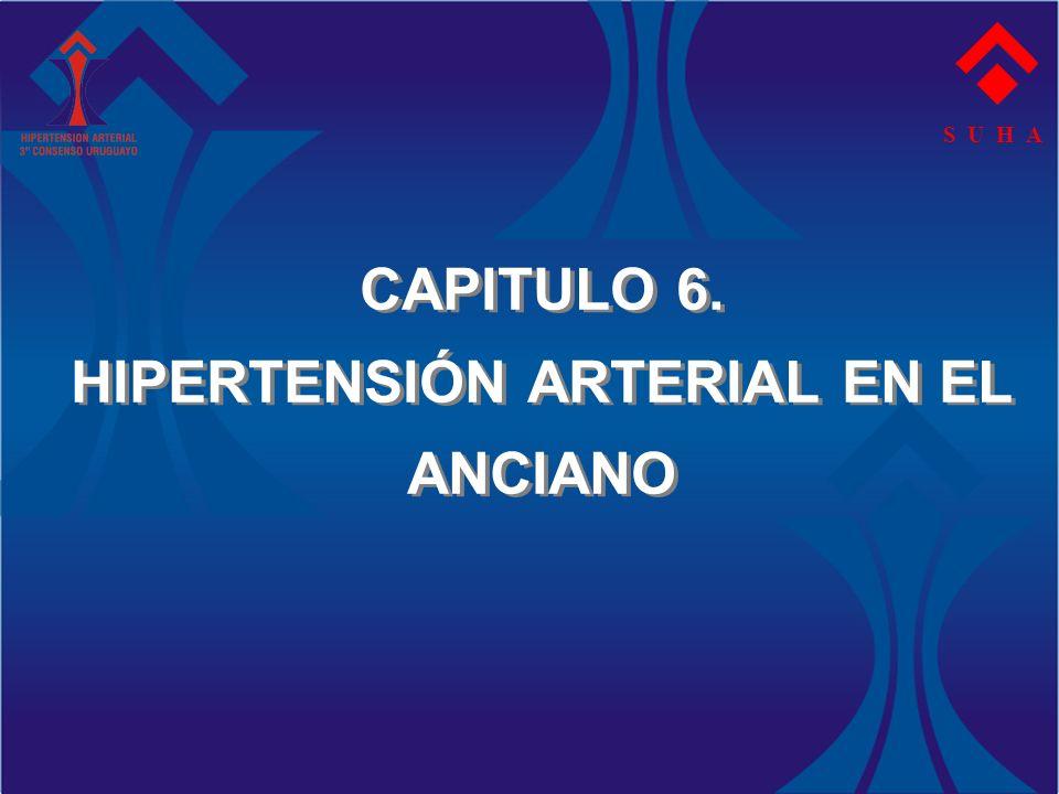 CAPITULO 6. HIPERTENSIÓN ARTERIAL EN EL ANCIANO S U H A