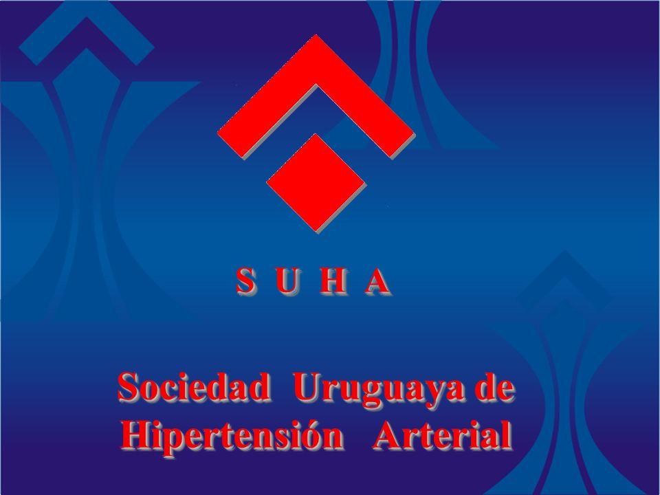 S U H A Sociedad Uruguaya de Hipertensión Arterial