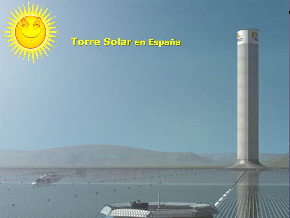 Torre Solar en España