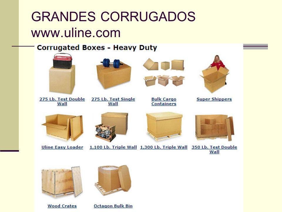 GRANDES CORRUGADOS www.uline.com