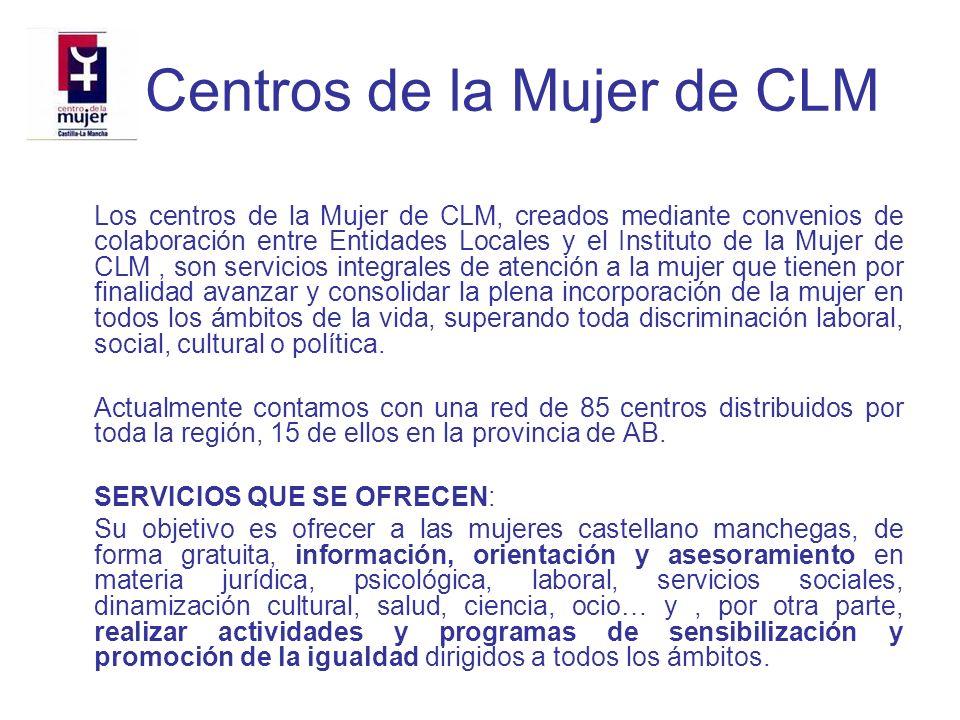 Centro de la Mujer del Ayuntamiento de Albacete DESDE ESTE CENTRO SE COORDINA Y DESARROLLA DESDE EL AÑO 2002, EL PROYECTO DE PROMOCIÓN DE LA IGUALDAD EN EL AMBITO EDUCATIVO DIRIGIDO A LOS INSTITUTOS DE ENSEÑANZA SECUNDARIA DE ALBACETE