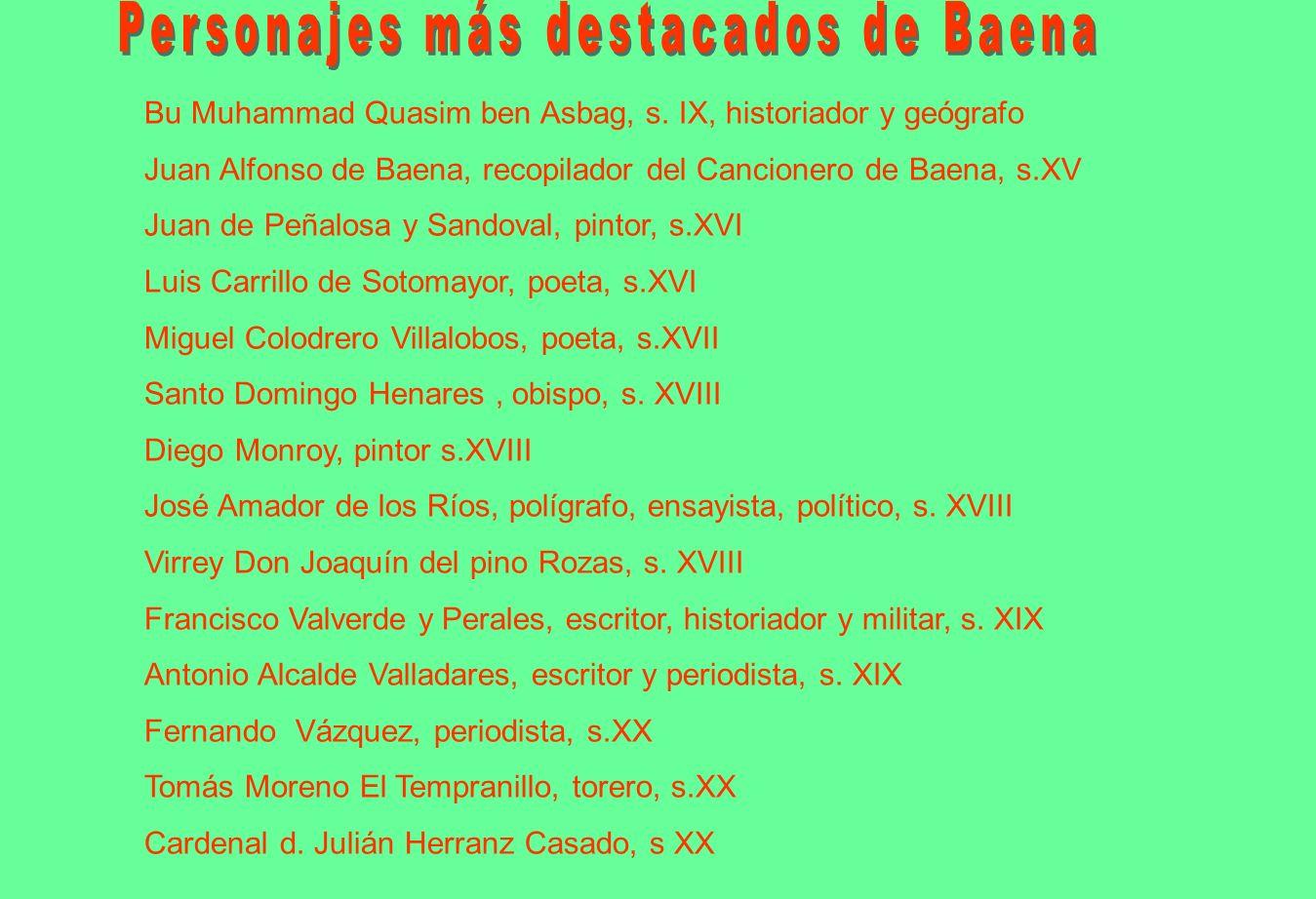 Nace en Baena el 1 de Octubre de 1848.
