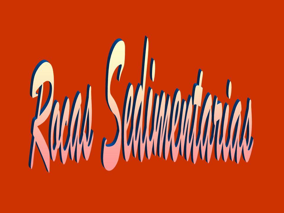 Características: Las rocas sedimentarias son rocas que se forman por acumulación de sedimentos que, sometidos a procesos físicos y químicos (diagénesis), resultan en un material de cierta consistencia.