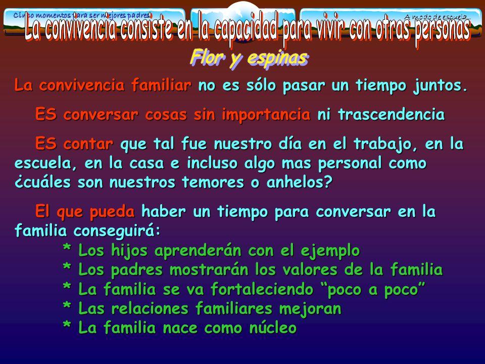 Escuela Padres L.Mesa a.- De orden material (dinero, juguetes, juegos...): Muchos padres creen son una especie de soborno.