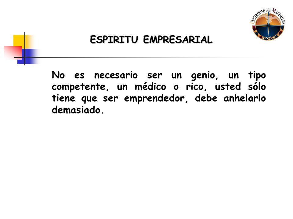 ESPIRITU EMPRESARIAL 3.