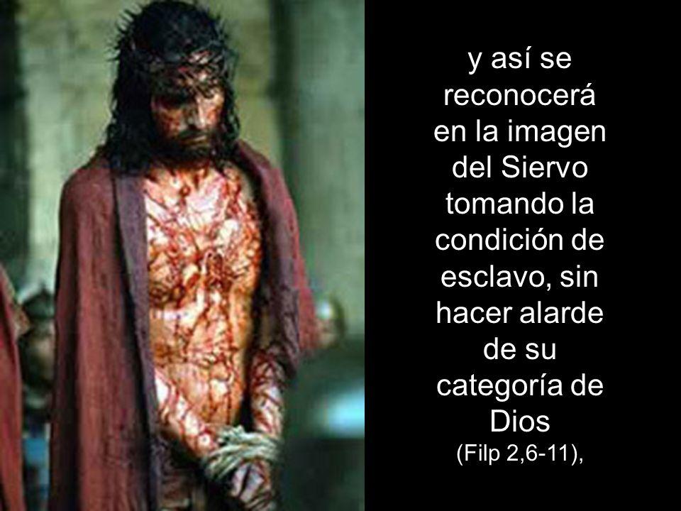 Son las necesidades de un Dios que elige siempre lo débil y lo que no cuenta para confundir a los prepotentes (1 Cor 1,26-28),