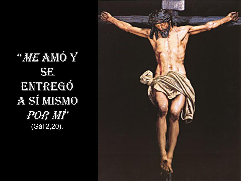 o el realismo con el que Pablo agradecerá la donación de su Señor: