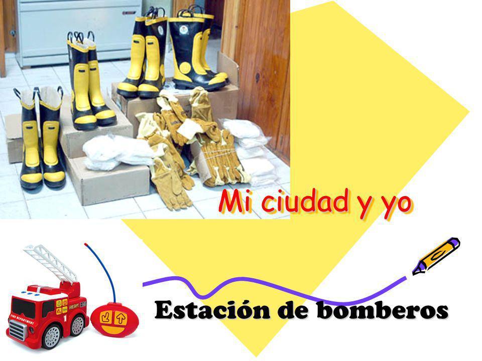 Mi ciudad y yo Estación de bomberos